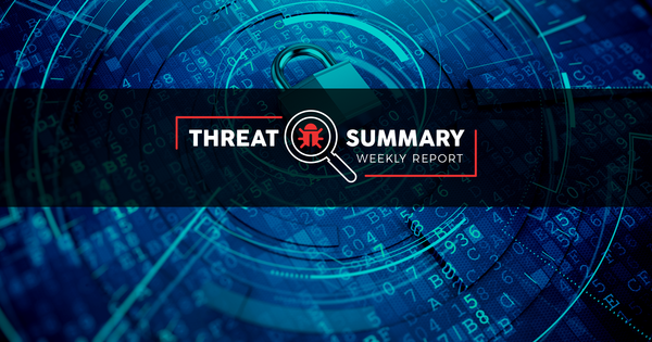 Threat Summary - Week 33, 2019