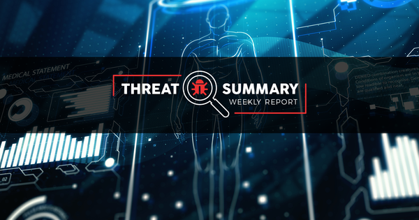 Threat Summary - Week 38, 2019
