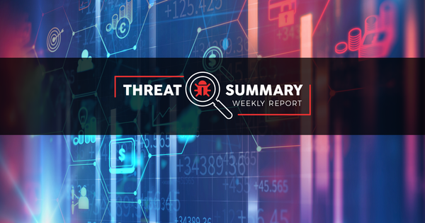 Threat Summary - Week 39, 2019