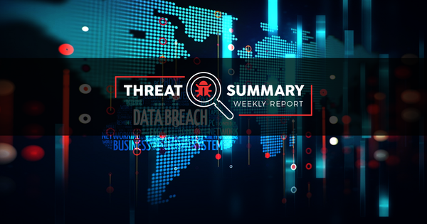 Threat Summary - Week 40, 2019