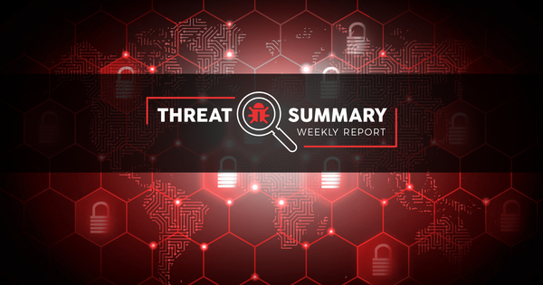 Threat Summary - Week 41, 2019