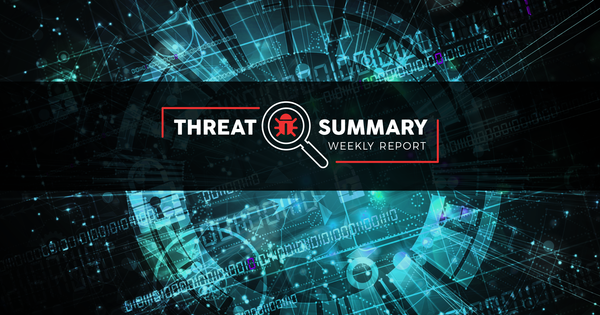 Threat Summary - Week 47, 2019