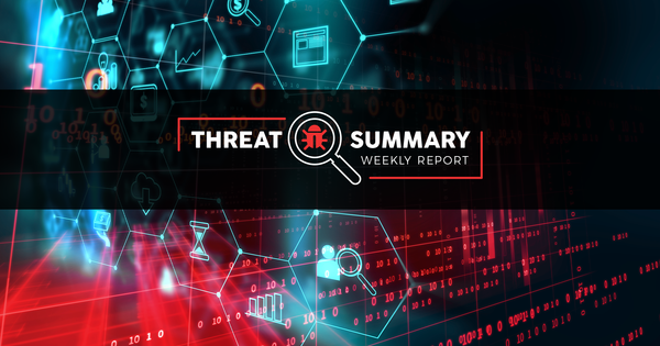 Threat Summary - Week 50, 2019