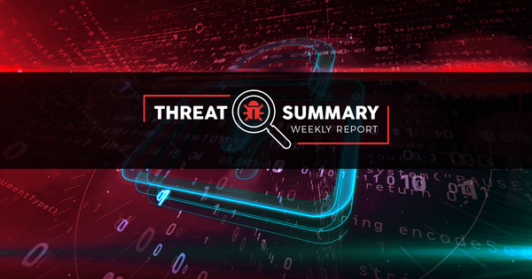 Threat Summary - Week 51, 2019